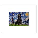 Starry Night & Gordon Small Poster