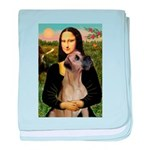 Mona / Great Dane baby blanket