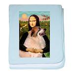 Mona / Gr Pyrenees baby blanket