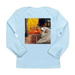 Cafe / Great Pyrenees Long Sleeve Infant T-Shirt