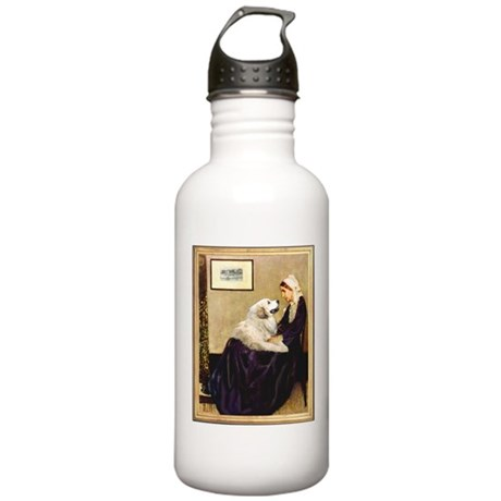 WMom-Great Pyrenees Stainless Water Bottle 1.0L