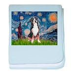 Starry Night / GSMD baby blanket