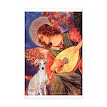 Mandolin / Ital Greyhound Mini Poster Print