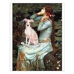 Ophelia / Italian Greyhound Small Poster