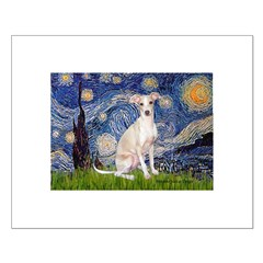 Starry Night / Ital Greyhound Posters