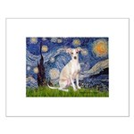 Starry Night / Ital Greyhound Small Poster