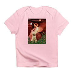 Seated Angel /Italian Spinone Infant T-Shirt