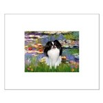 Lilies (#2)/Japanese Chin Small Poster