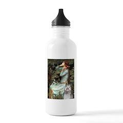 Opohelia's Keeshond (E) Water Bottle