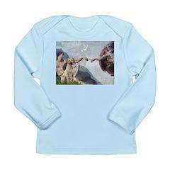 Creation/Labrador (Y) Long Sleeve Infant T-Shirt