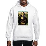 Mona & her Chocolate Lab Hooded Sweatshirt