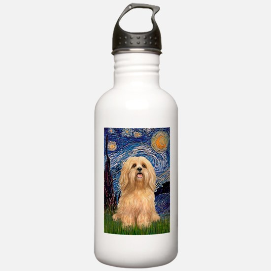 Starry / Lhasa Apso #9 Water Bottle