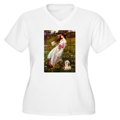 Windflowers / Lhasa Apso #4 T-Shirt