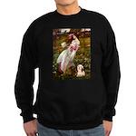 Windflowers / Lhasa Apso #4 Sweatshirt (dark)
