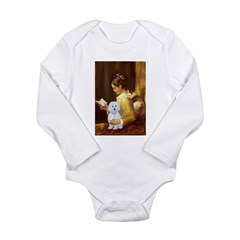 Reading / Maltese Long Sleeve Infant Bodysuit