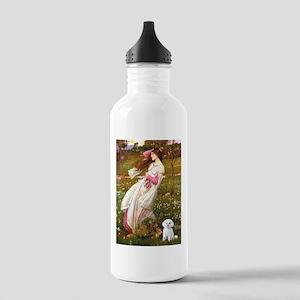 Windflowers / Maltese Stainless Water Bottle 1.0L