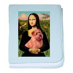 Mona / Norfolk Terrier baby blanket