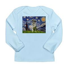 Starry / Nor Elkhound Long Sleeve Infant T-Shirt