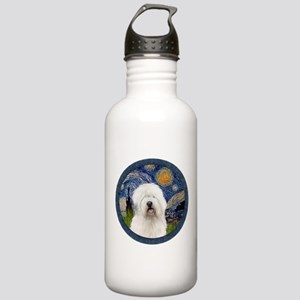 Starry Old English (#3) Stainless Water Bottle 1.0