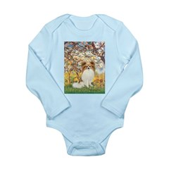 Spring / Papillon Long Sleeve Infant Bodysuit
