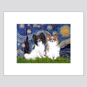 Starry / 2 Papillons Small Poster