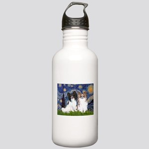 Starry / 2 Papillons Stainless Water Bottle 1.0L