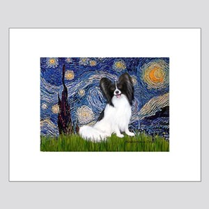 Starry Night Papillon Small Poster