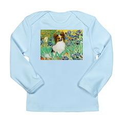 Irises / Papillon Long Sleeve Infant T-Shirt
