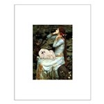 Ophelia /Pekingese(w) Small Poster
