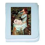 Ophelia /Pekingese(w) baby blanket