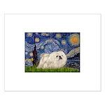 Starry / Pekingese(w) Small Poster