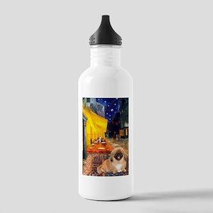 Cafe /Pekingese (r) Stainless Water Bottle 1.0L