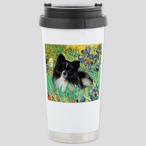 Irises / Pomeranian(bb) Stainless Steel Travel Mug