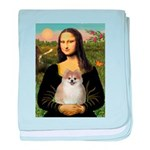 Mona/Pomeranian (#1) baby blanket