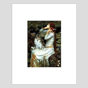 Ophelia / Pomeranian (p) Small Poster