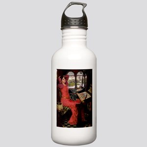 Lady / Black Pug Stainless Water Bottle 1.0L