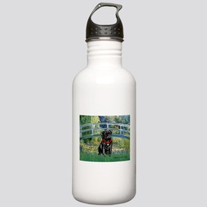 Bridge / Black Pug Stainless Water Bottle 1.0L