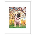 Spring / Pug Small Poster