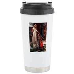 Accolade / 2 Pugs Stainless Steel Travel Mug