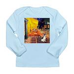 Cafe / Rat Terrier Long Sleeve Infant T-Shirt