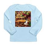 Path / Rat Terrier Long Sleeve Infant T-Shirt