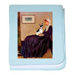 Whistler's / Rat T baby blanket