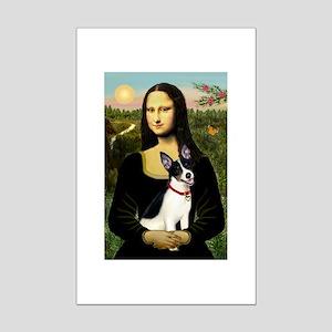 Mona / Rat Terrier Mini Poster Print