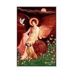 Angel / R Ridgeback Mini Poster Print