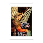 Madonna/Rottweiler Mini Poster Print