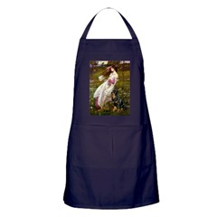 Windflowers / Rottweiler Apron (dark)
