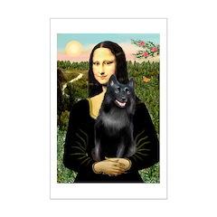 Mona's Schipperke (#5) Posters