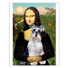 Mona Lisa/Schnauzer (#2) Posters