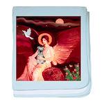 Angel / Min Schnauzer baby blanket