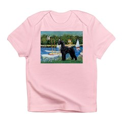SCHNAUZER & SAILBOATS Infant T-Shirt